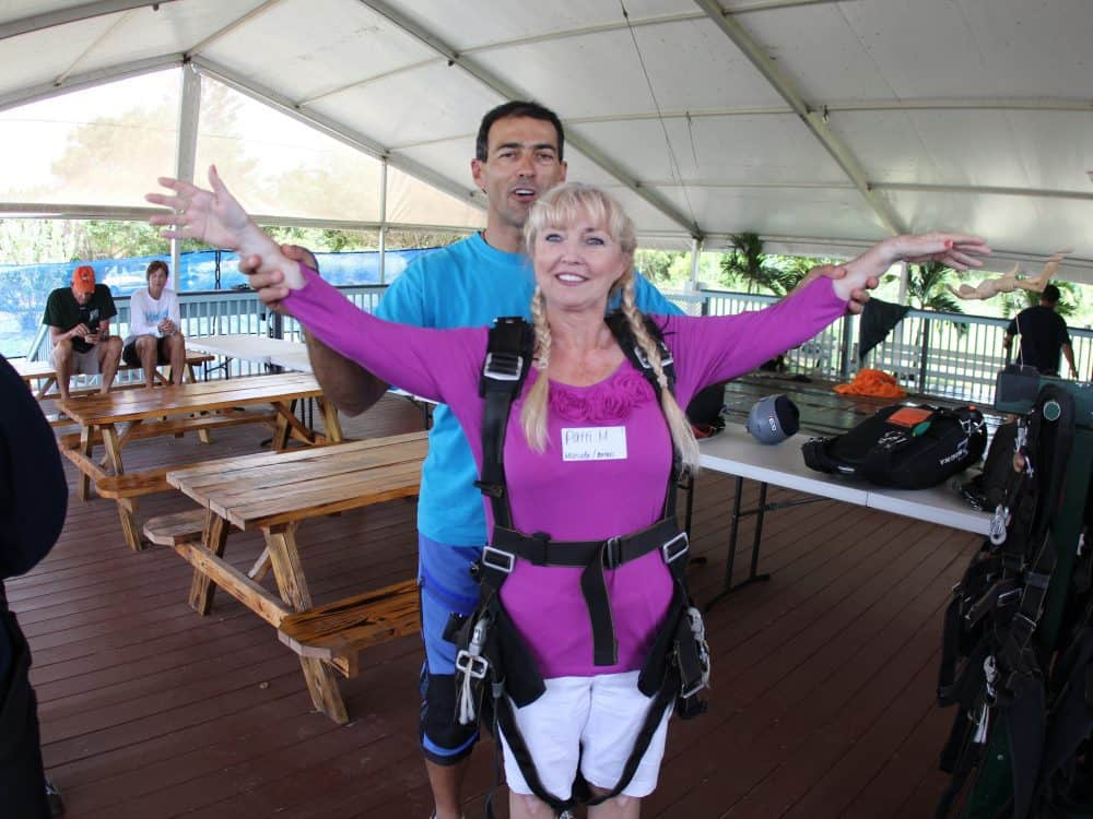 Pacific Skydiving instruction