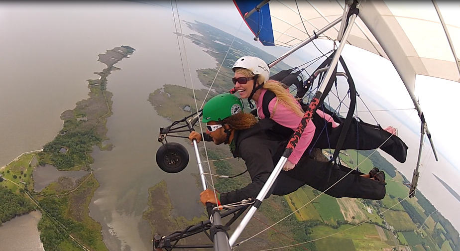 hang gliding at kitty hawk