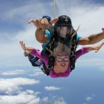 I jumped out of a perfectly good plane!
