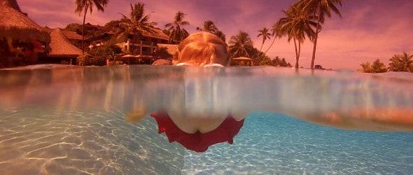 Snorkeling in Tahiti, photo ©Doug Stead