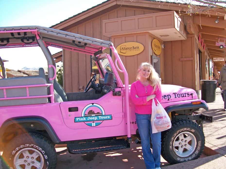 sedona pink jeep adventure