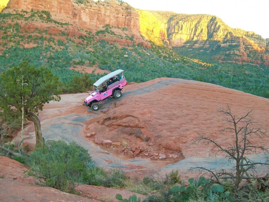 sedona pink jeep adventure