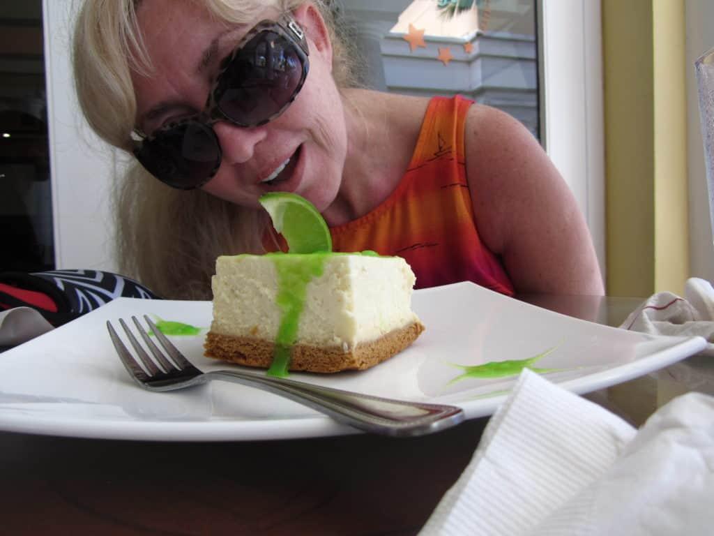 Curacao key lime pie