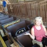 Kemah Boardwalk TX rollercoaster