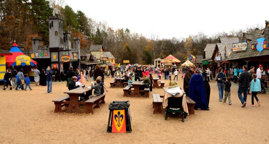 Renaissance Festival wideangle