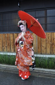 Guess who? My Geisha makeover...