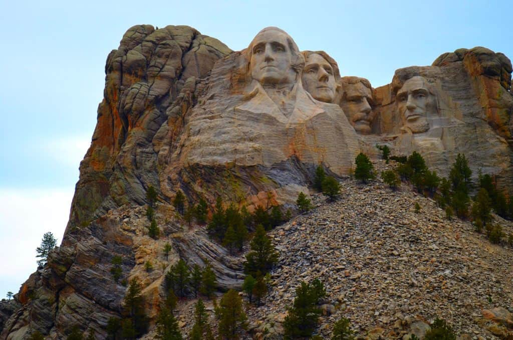Mt. Rushmore, a stunning sculptural marvel