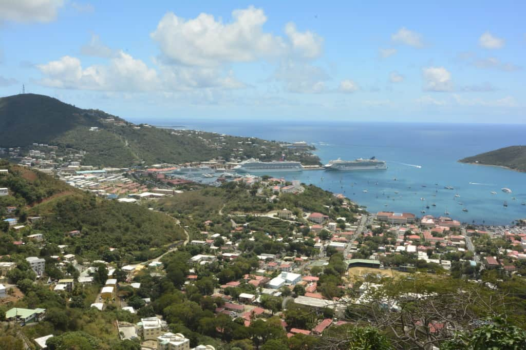 St. Thomas, just one of many island vistas. ©Doug Stead Photography