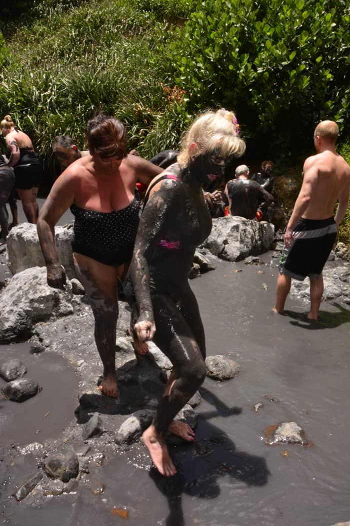 st lucia mud bath
