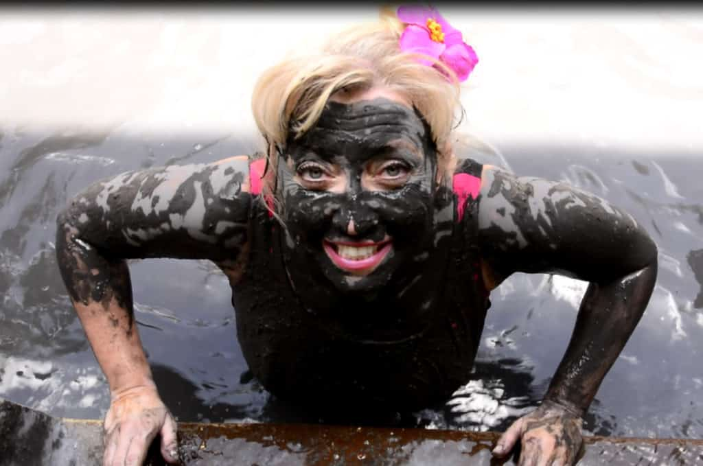 st lucia mud bath