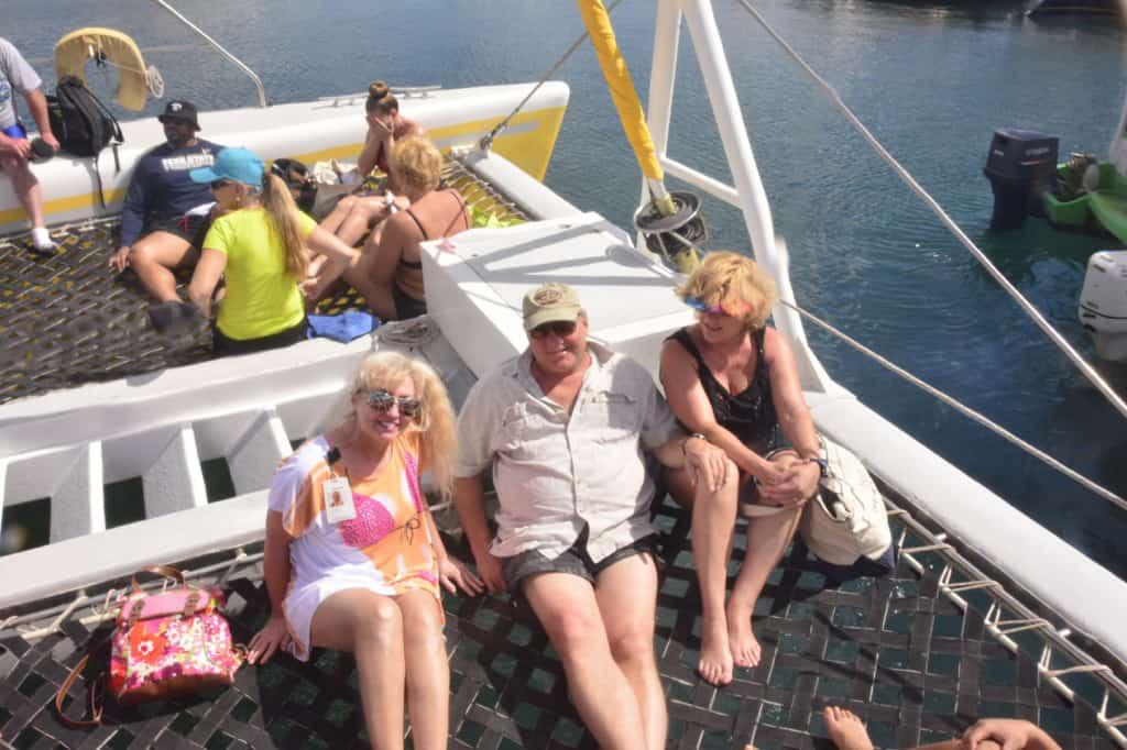 5 catamaran to Nevis-a