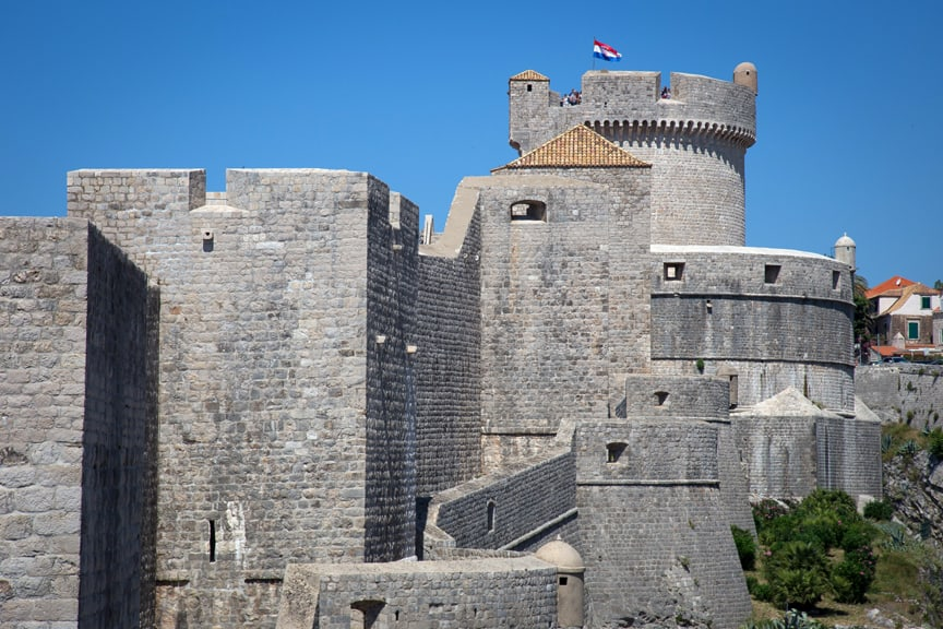 Dubrovnik Old Town walls, valentines day destination