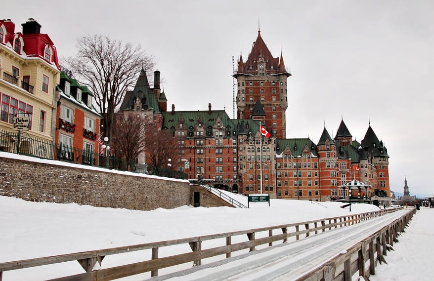 Quebec City valentines day destination