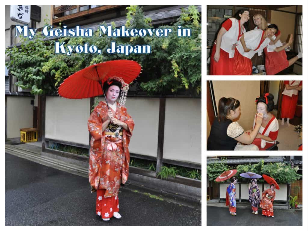 Japanese geisha in south florida