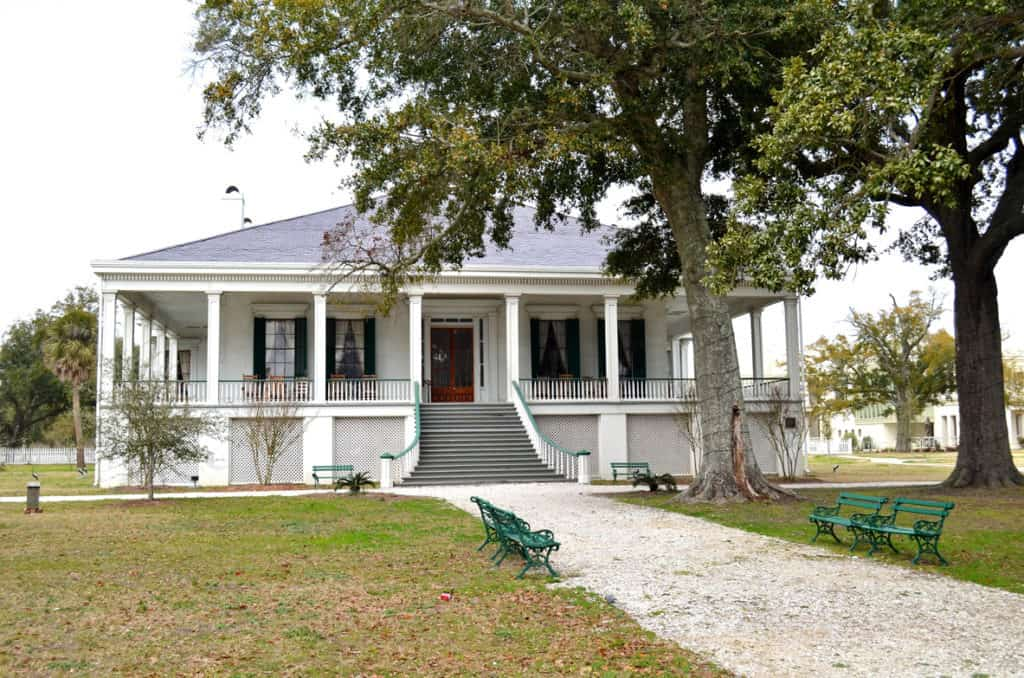 Beauvoir, the post-war home of the only Confederate President, Jefferson Davis