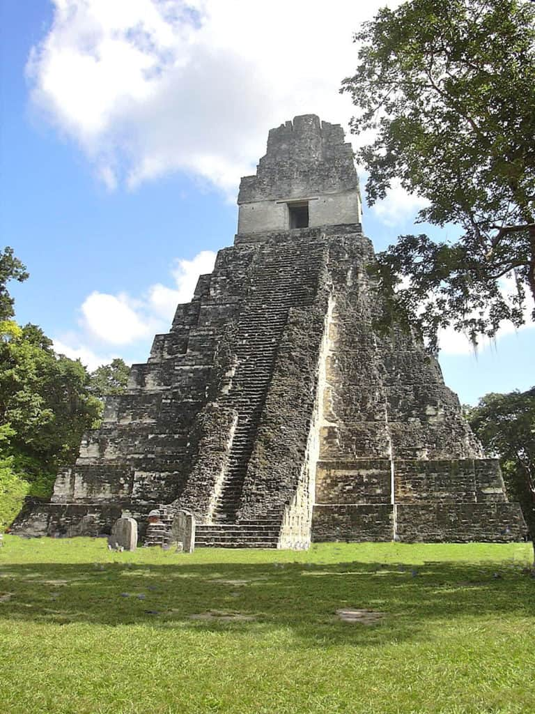 Temple I -- the most recognized of the Tikal meetropolis
