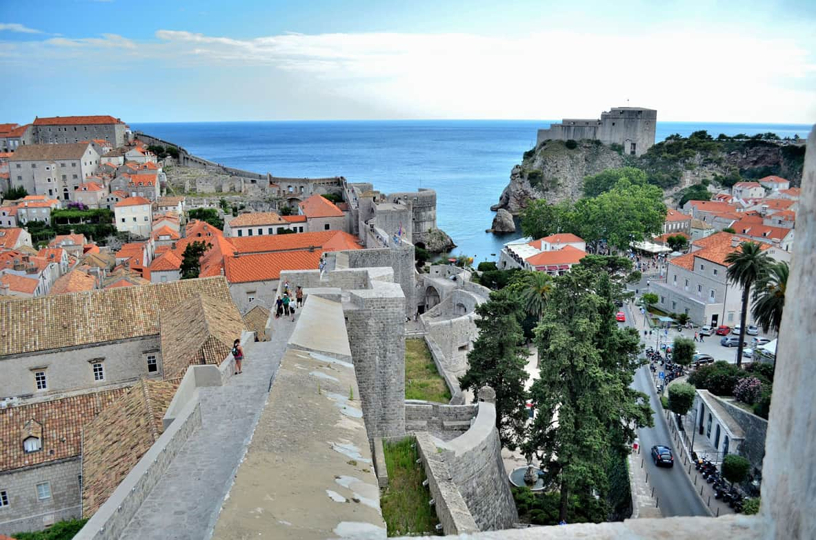 Dubrovnik's ancient walls