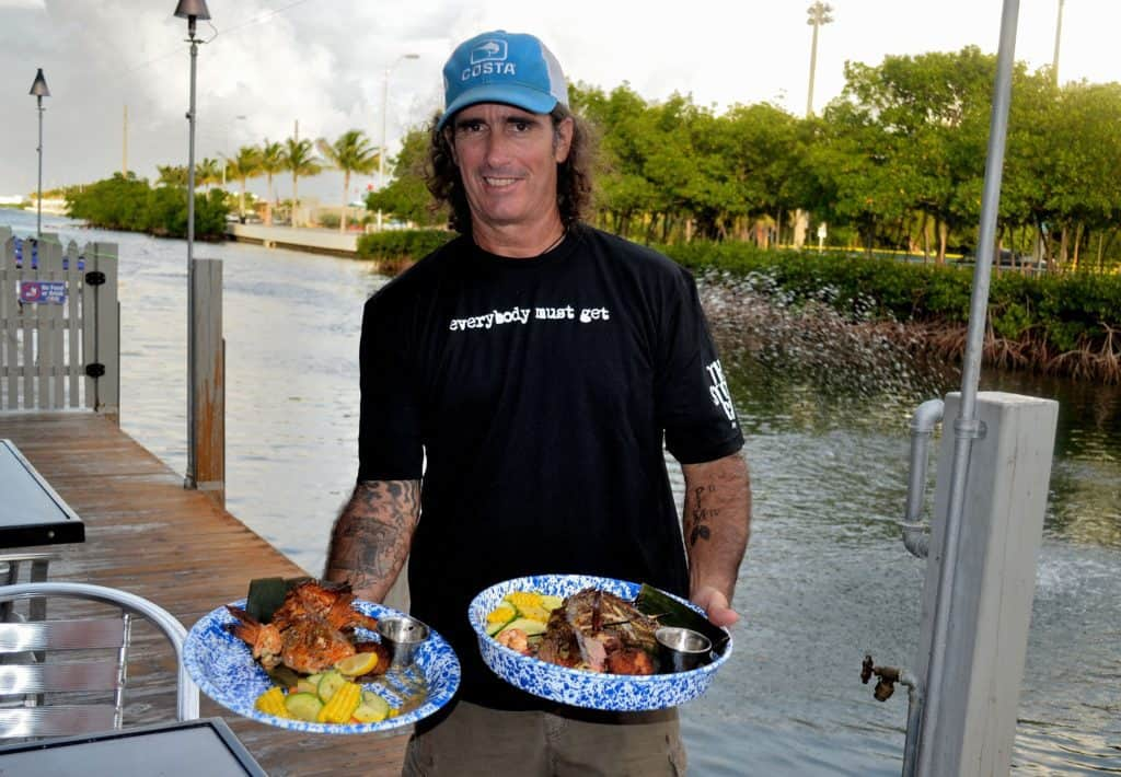 """Cooking with my grandmother was my alibi,"" said Paul Menta.  Curly-haired, charismatic, with an easy smile and sporting his beloved Liberty Bell tattoo, Paul is one third of the dynamic trio behind Key West's runaway concept Three Hands Fish."