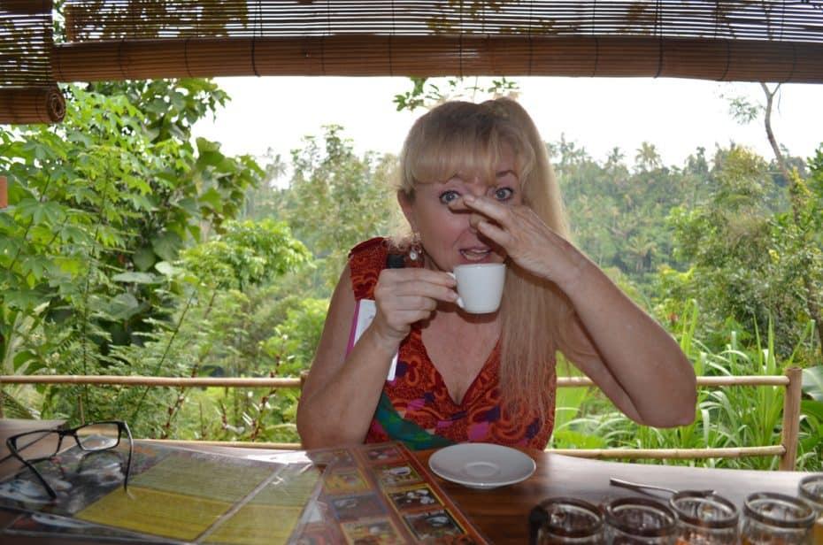 Bali cat poop coffee