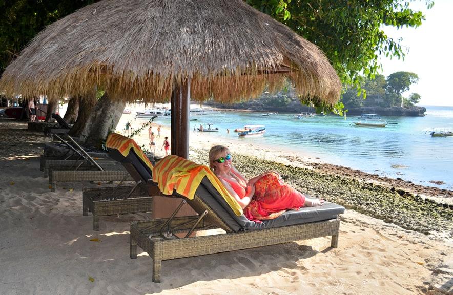 Bali Hai Beach Club on Lembongan Island