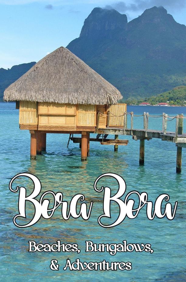PIN Beaches in Bora Bora