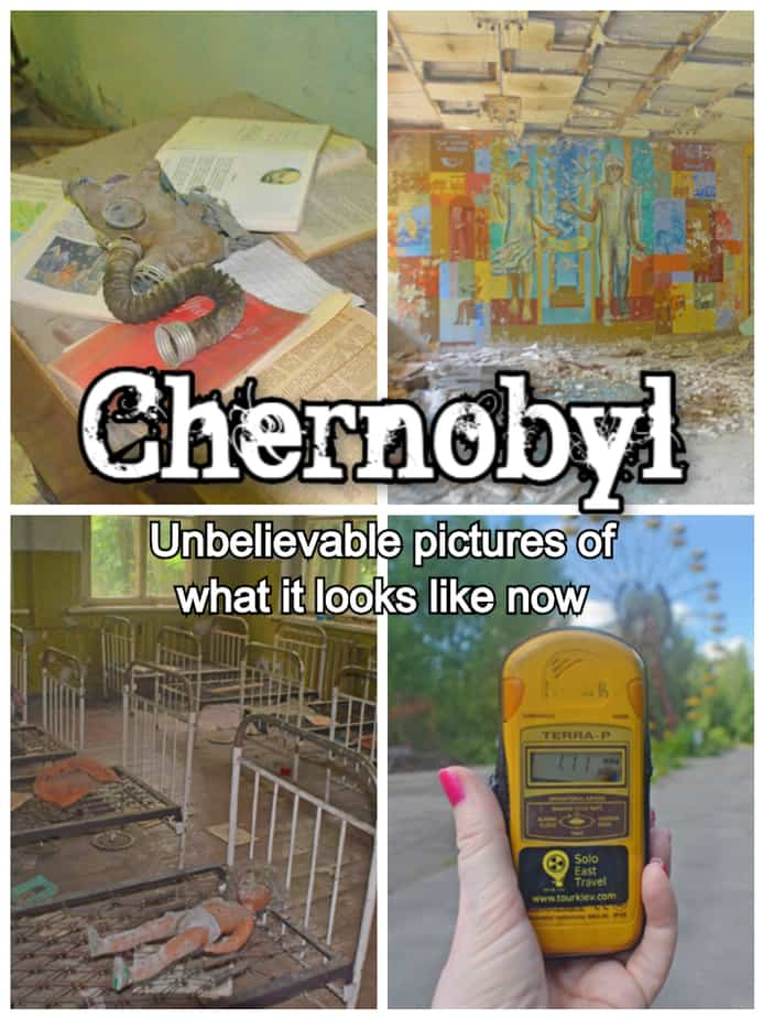 30th Anniversary Of The Chernobyl Tragedy Or Building A Pin