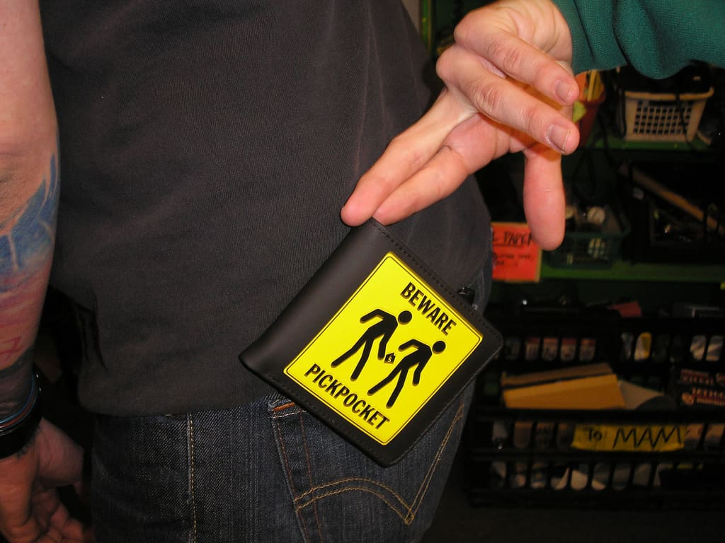 photo credit: Archie McPhee Seattle Pickpocket Wallet via photopin (license)