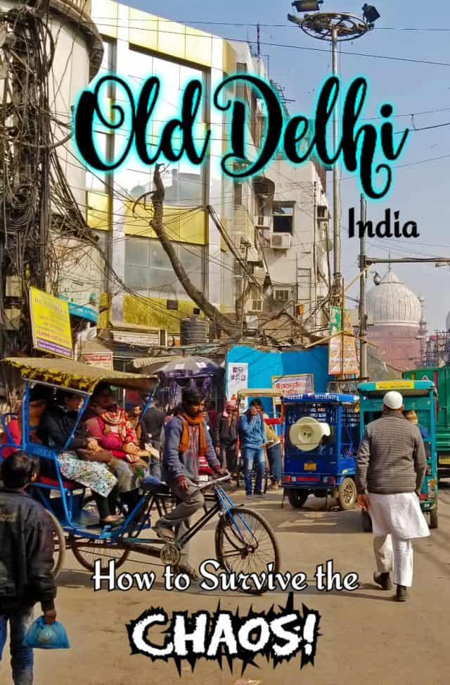 old delhi india