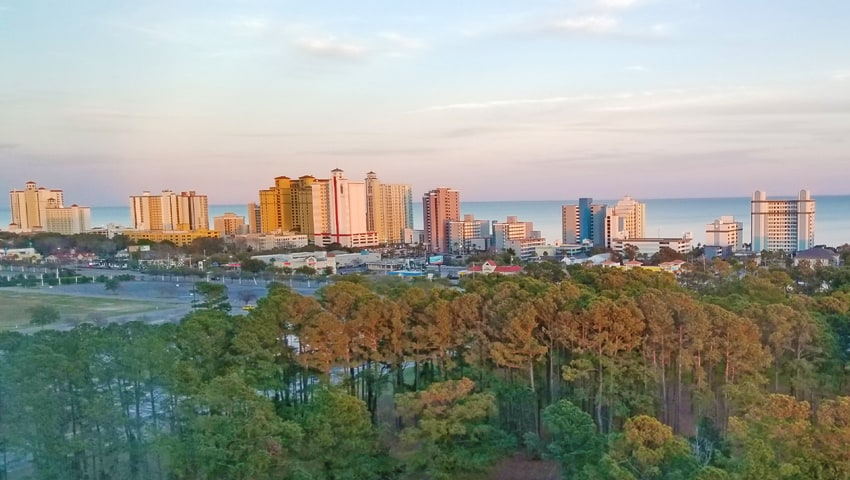 romantic things to do in myrtle beac