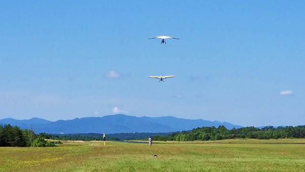 thermal valley hang gliding