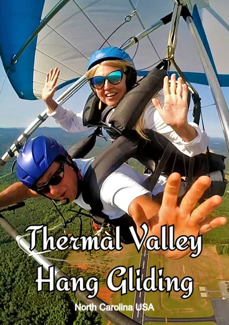thermal valley hang gliding