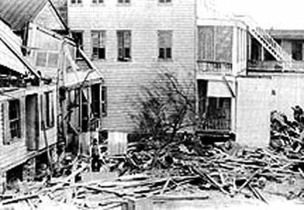 beaufort hurricane 1893