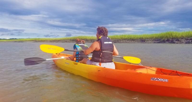 kayaking in beaufort sc