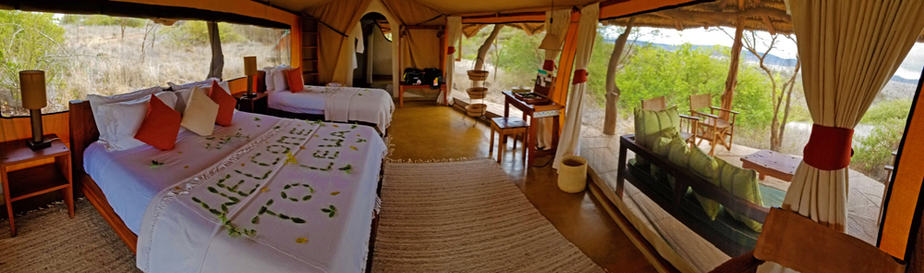lewa tented camp