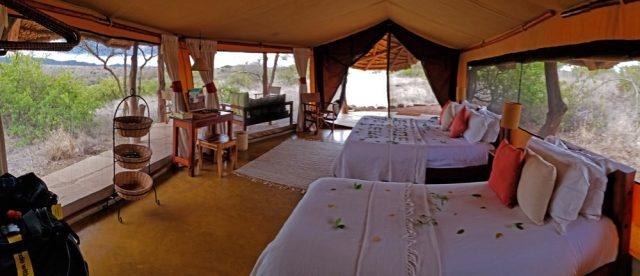 Lewa tented camp