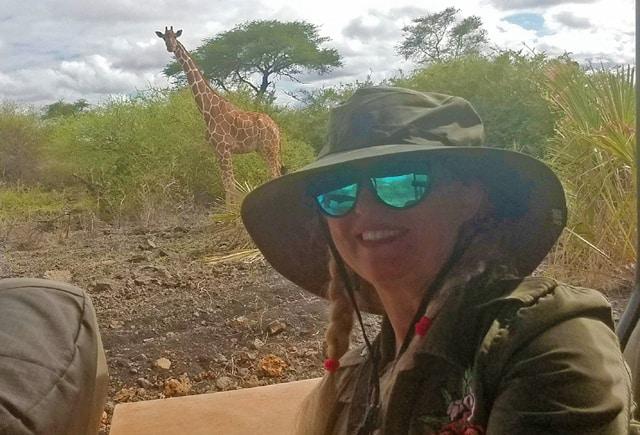 giraffe in meru