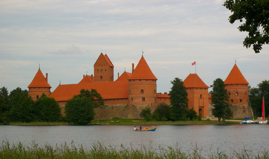 castles in lithuania