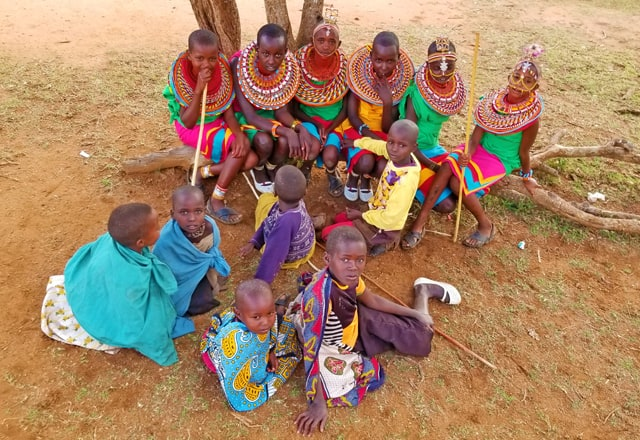 samburu children