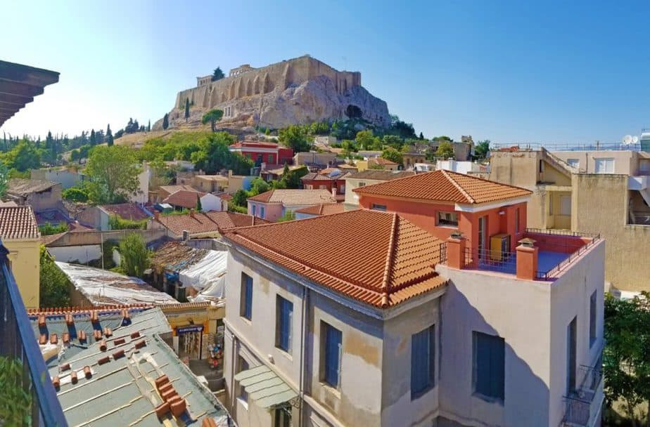 one day in athens