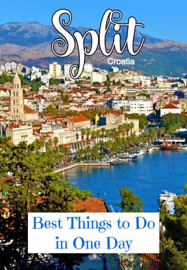 holidays to split croatia