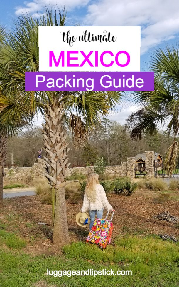 what to pack for mexico pin