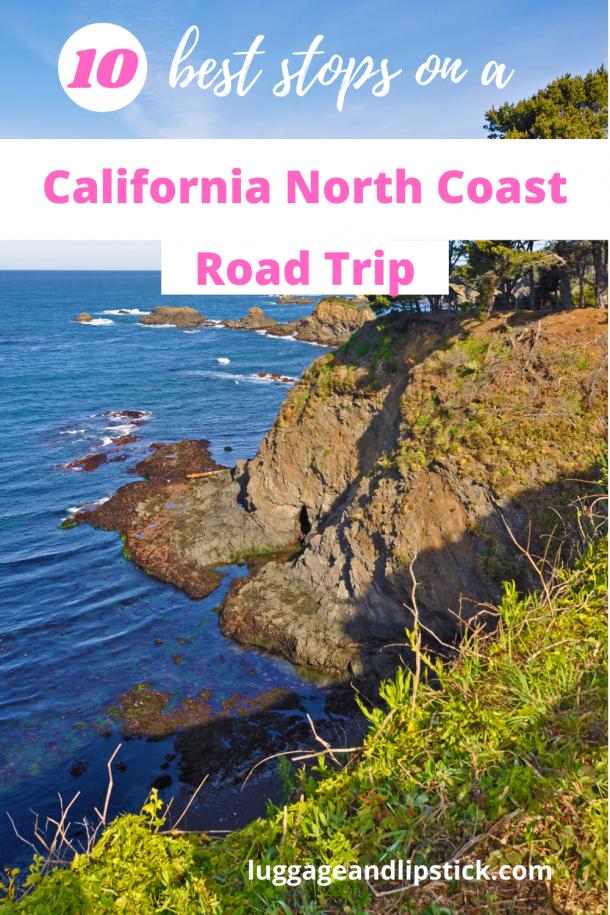 california north coast pin
