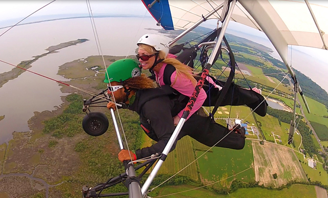 hang gliding OBX